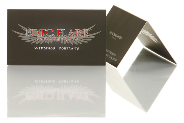 Photo Flare Business Card